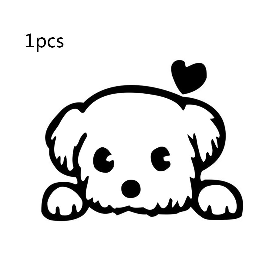 1 Pcs Diy Dog Switch Stickers Wall Sticker For Kids Rooms Funny Home Decor Home Decoration Accessories Poster Puppy Cartoon Wall Stickers Kids Cute Dog Cartoon [ 900 x 900 Pixel ]