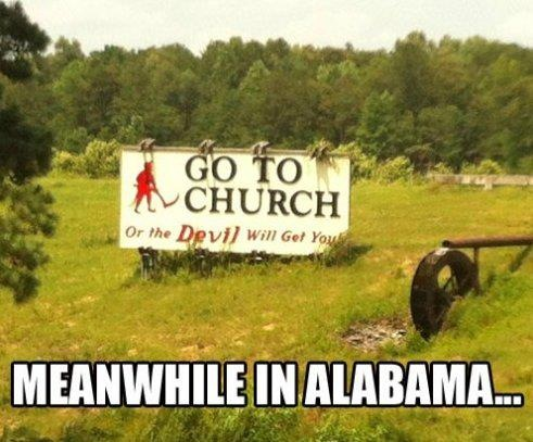 hahaha and people think this is a joke. really though, welcome to alabama. this exists.