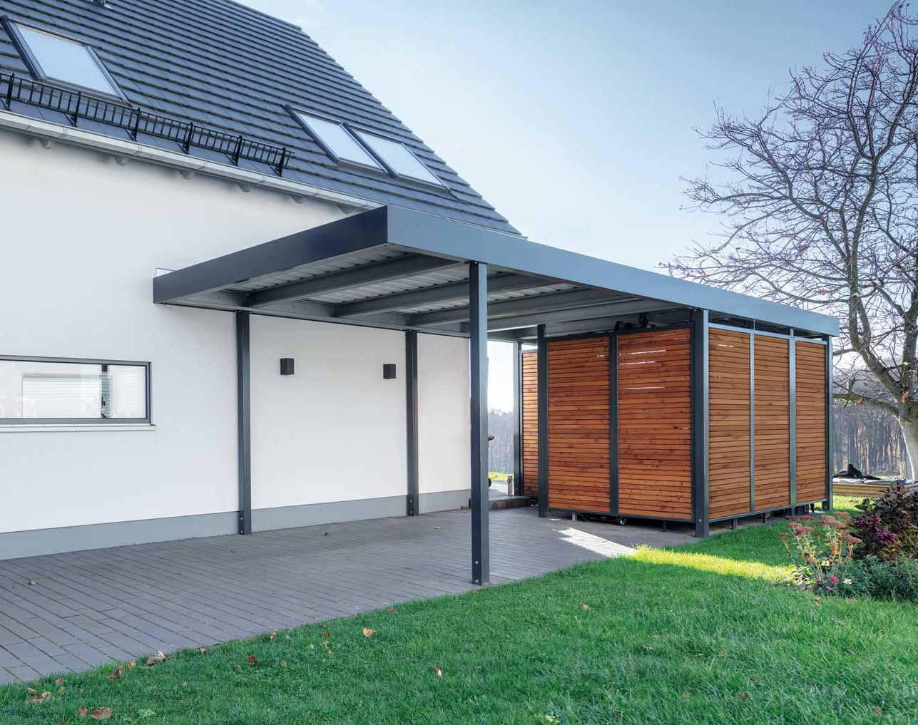 Striking Roof Styles Roofstyles In 2020 Carport Patio Pergola