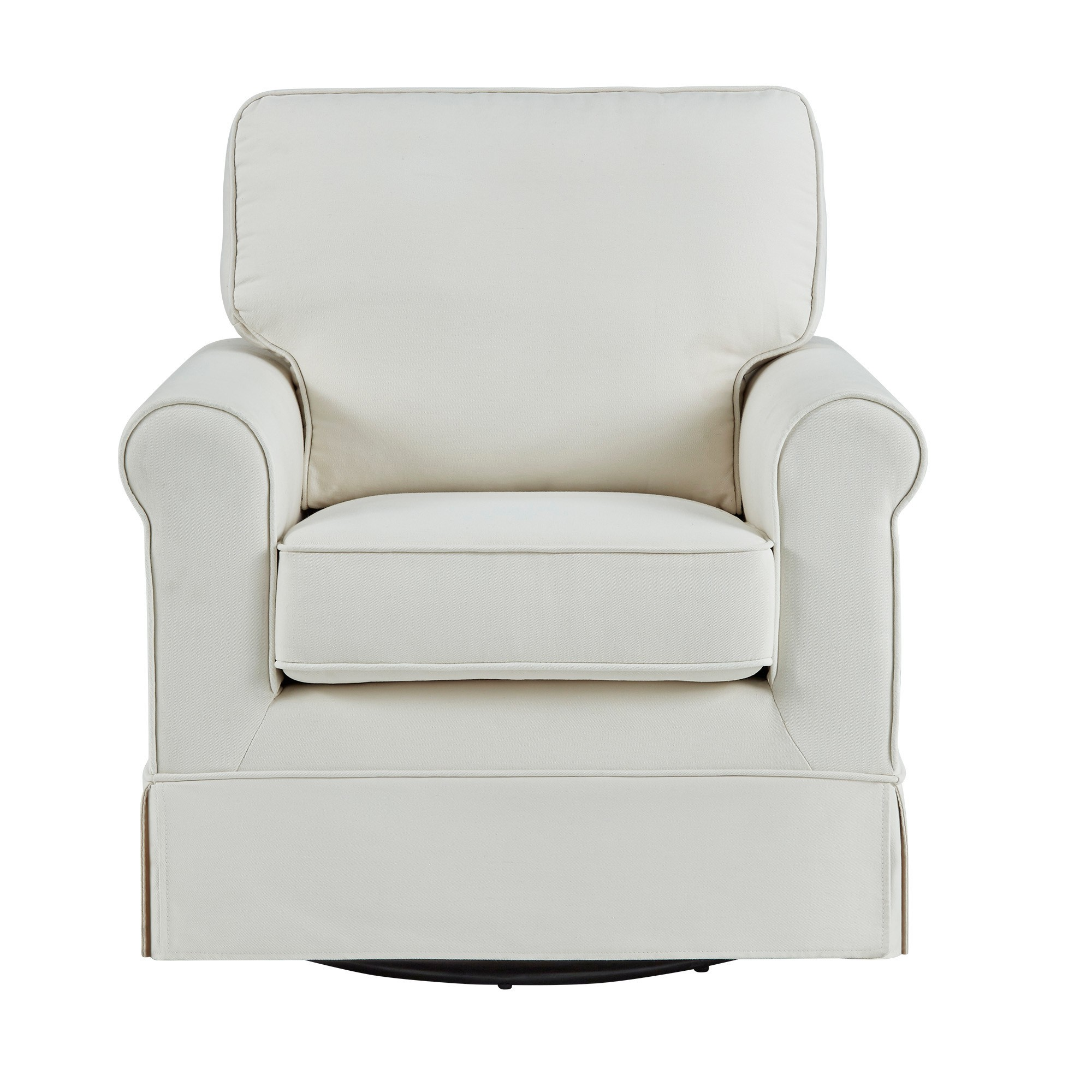 Peachy Burian Swivel Rocking Arm Chair Off White Inspire Q Caraccident5 Cool Chair Designs And Ideas Caraccident5Info
