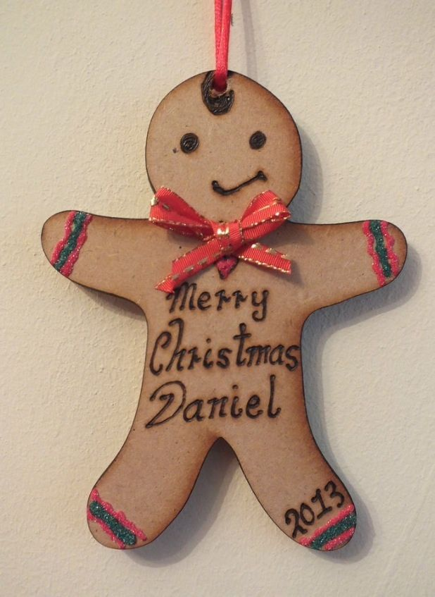 Bon One Of Many Personalised Christmas Decorations Available Check Out My  Website Www.gemmas