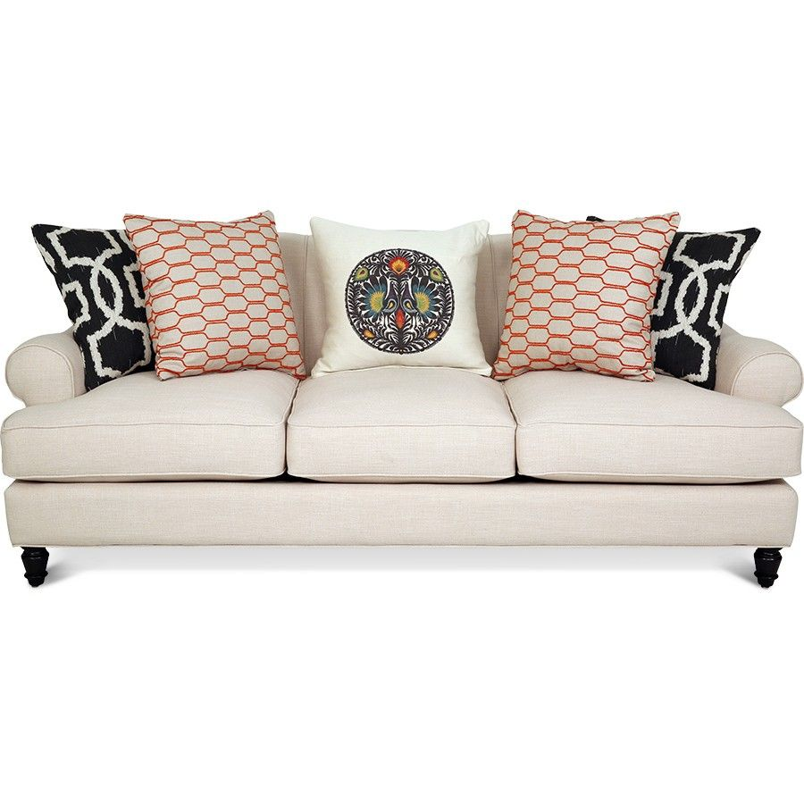Jonathan Louis Quincy Sofa - Front View