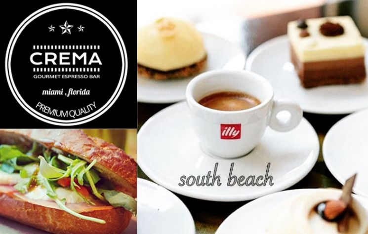 Crema Gourmet Espresso Bar On Southbeach Is Wishing You A
