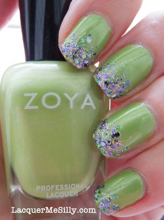 Fotos de uñas color verde #green #nails #uñas #verde | MANOS ...