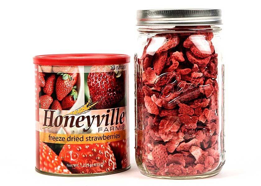 Freeze Dried Strawberries #freezedriedstrawberries