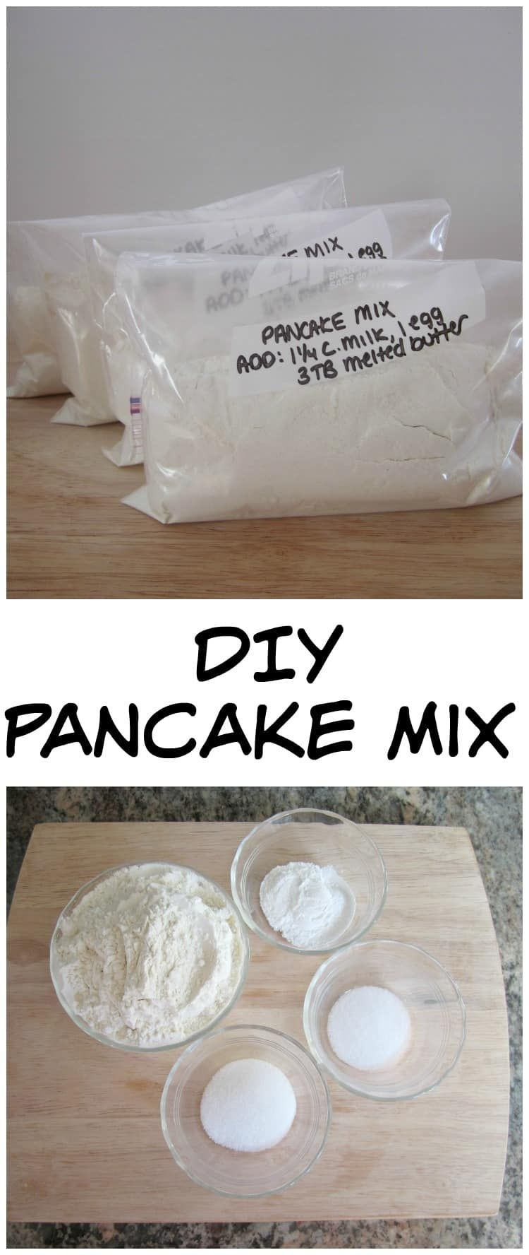 Easy makeahead pancake mix recipe in 2020 homemade