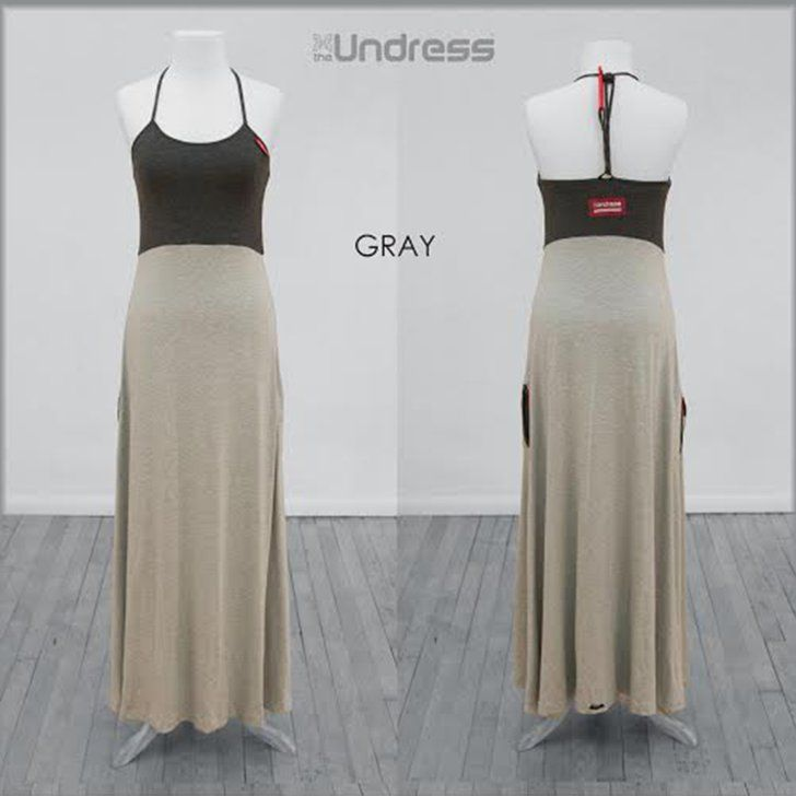 Pin for Later: This Dress Is Actually a Changing Room Like Gray