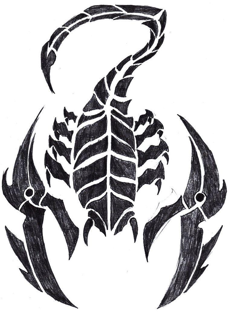 хотел этого картинки скорпиона для тату могла построить