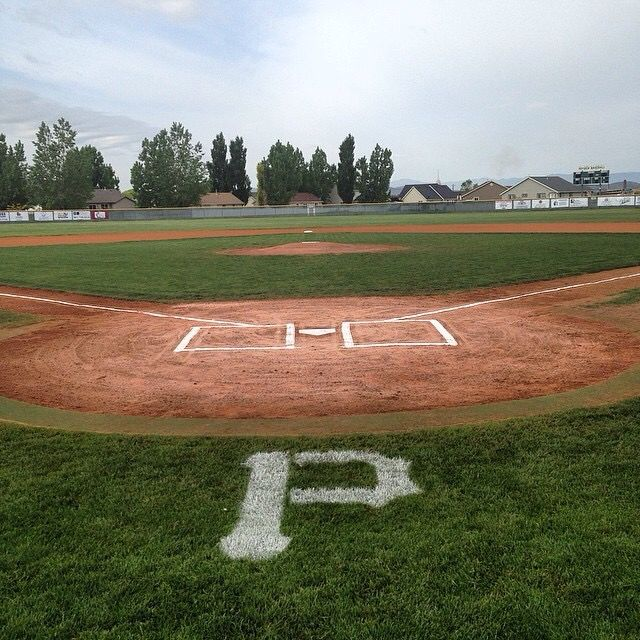Payson Highschool Baseball Field We Built Our Home So That It Overlooked The Field Nothing More Beauti High School Baseball Summer Books Baseball Field