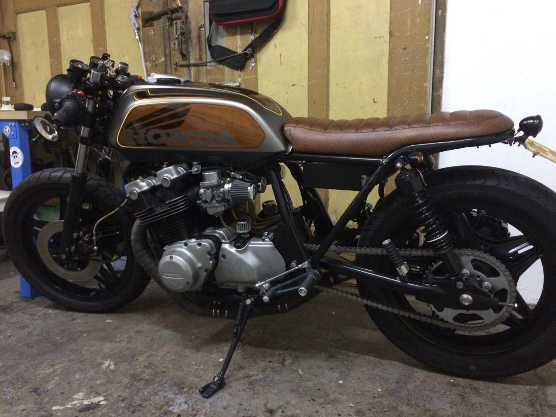 Honda CB750F 1981 Custom Cafe Racer Brat Style 1st Project