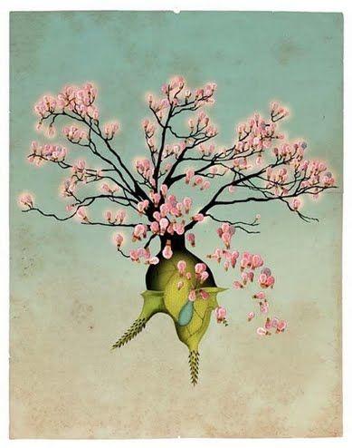 Desse 3 by Delphine Lebourgeois   Artfinder £630