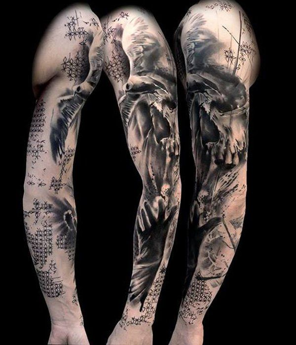 100 Awesome Examples Of Full Sleeve Tattoo Ideas Cuded Sleeve Tattoos Half Sleeve Tattoos For Guys Tattoo Sleeve Designs