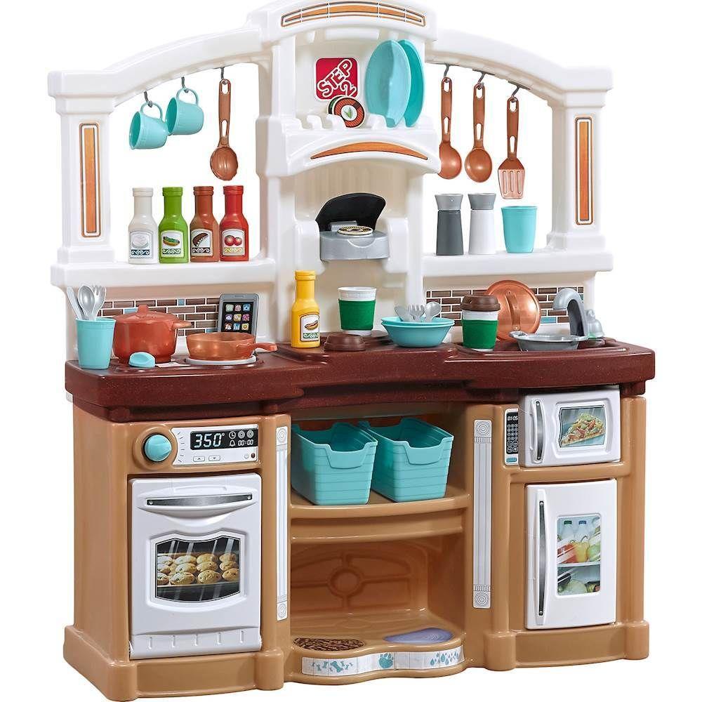Step2 Fun With Friends Kitchen Play Set Tan 488599 Kids Play