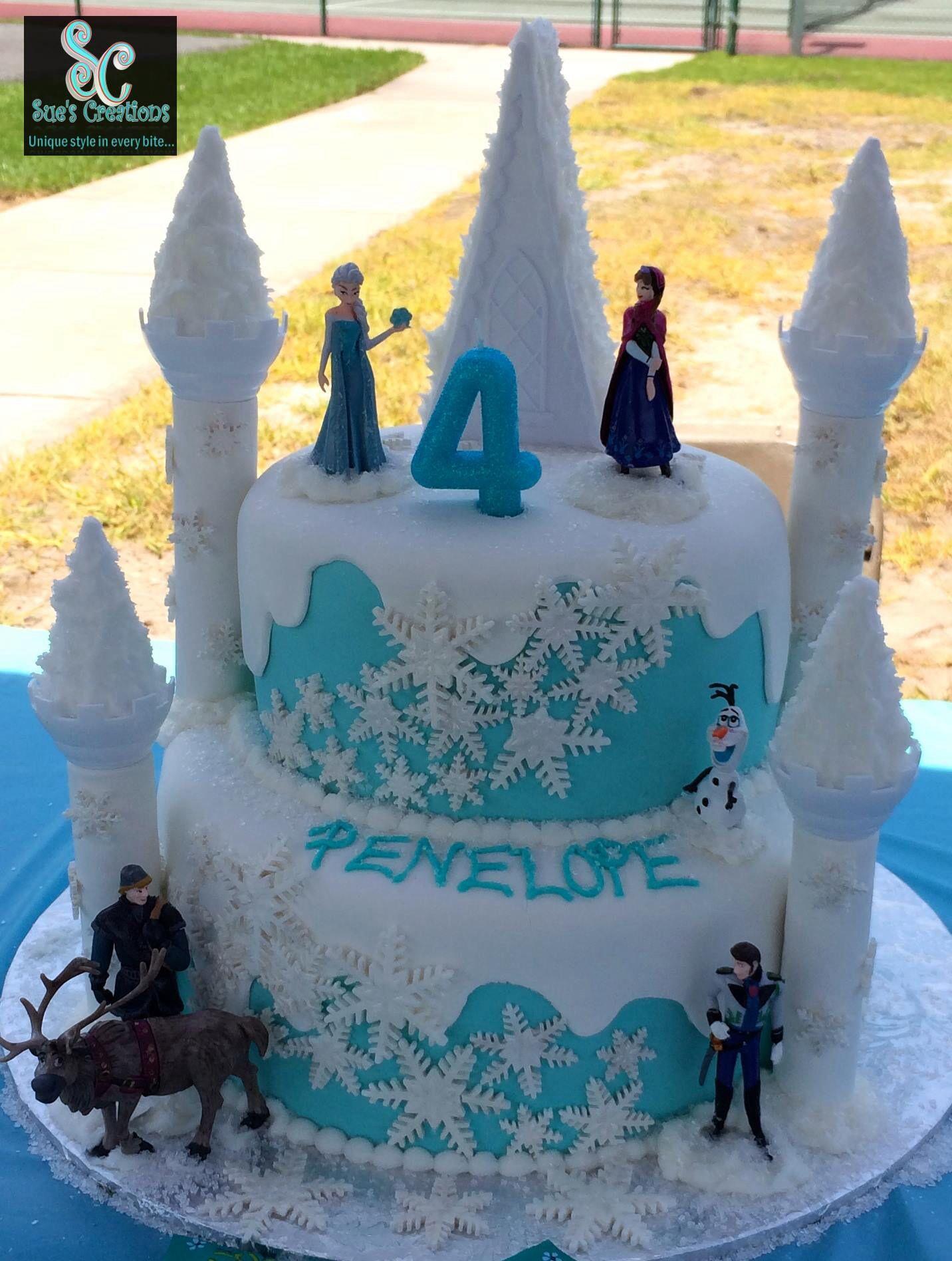 Disney Frozen Birthday Cake Disney S Frozen Cakes