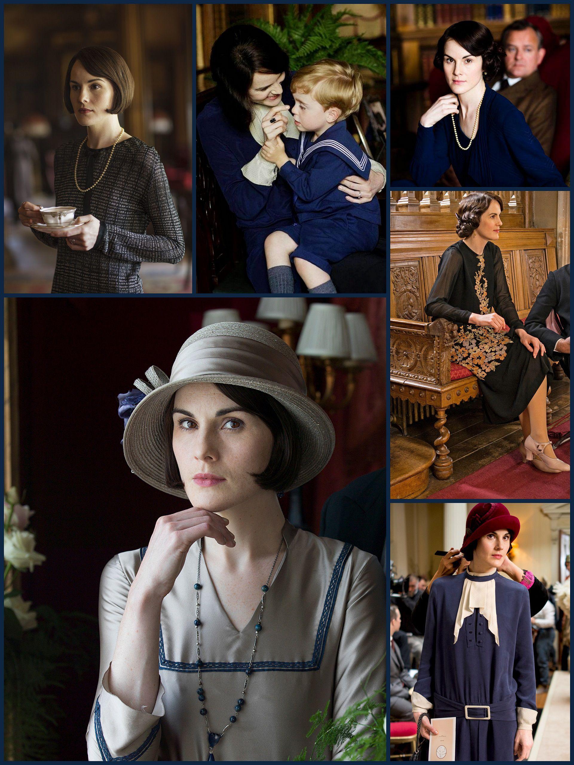 Downton Abbey La Mode Des Annees 1920 Saison 5 Downton Abbey Downton Abbey Fashion Downton