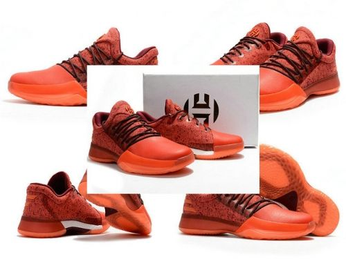 ac4c85343d44 nike shoes men s casual Adidas Harden Vol.1 Newest James Harden Shoes  Bright Crimson Total