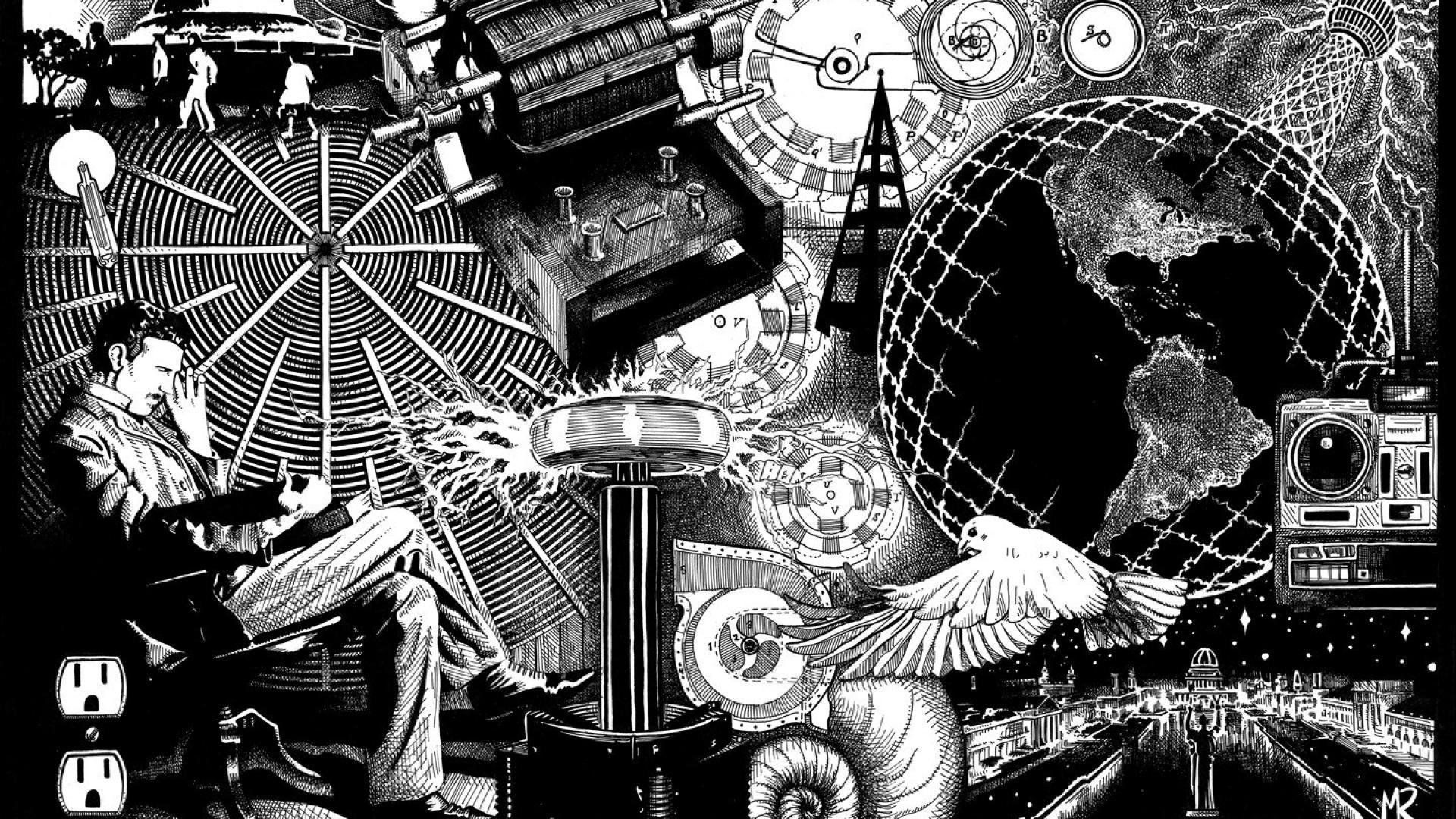 Nikola Tesla Free Hd Wallpapers Images Backgrounds Nikola Tesla Frases De Nikola Tesla Tesla