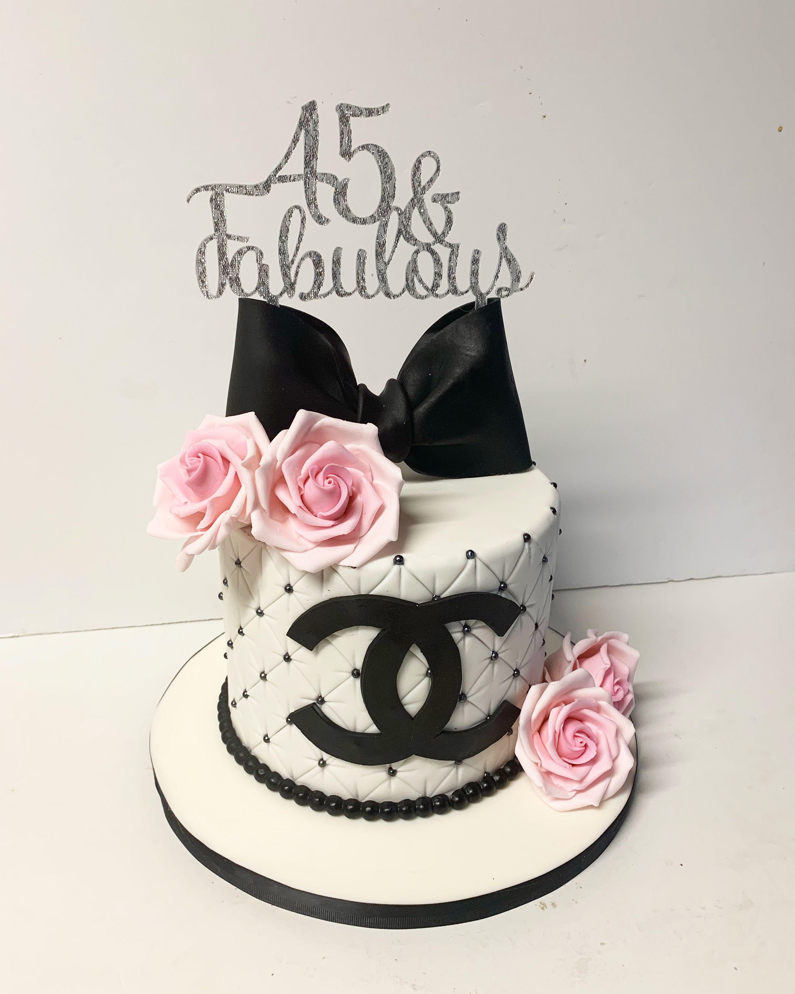 chanel birthday cake images