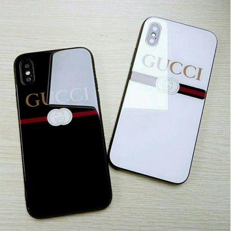 iPhoneXケース Kenzoケンゾー iPhone8/7 plusケース トラ光沢 個性 赤黒 カッコイイペア