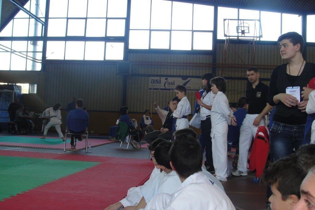 Odolo (Brescia), 26 gennaio 2014 - seconda tappa  del Progetto Scuola Karate; manifestazione gioco-sport Fijlkam - ASI che rappresenta un vero e proprio percorso formativo per tantissimi piccoli atleti bresciani, che si sono cimentati nelle varie prove del Trofeo.
