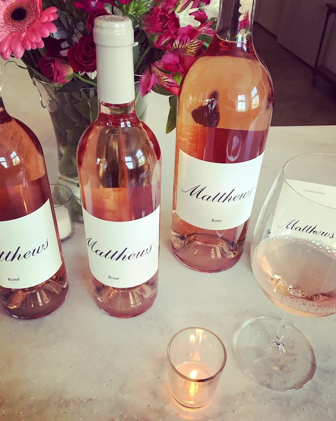 Rose From Matthews Winery We Use 100 Cabernet Franc One Of The More Reliable Bordeaux Varietals And One Ideally Sui Washington Wines Woodinville Wine Wines
