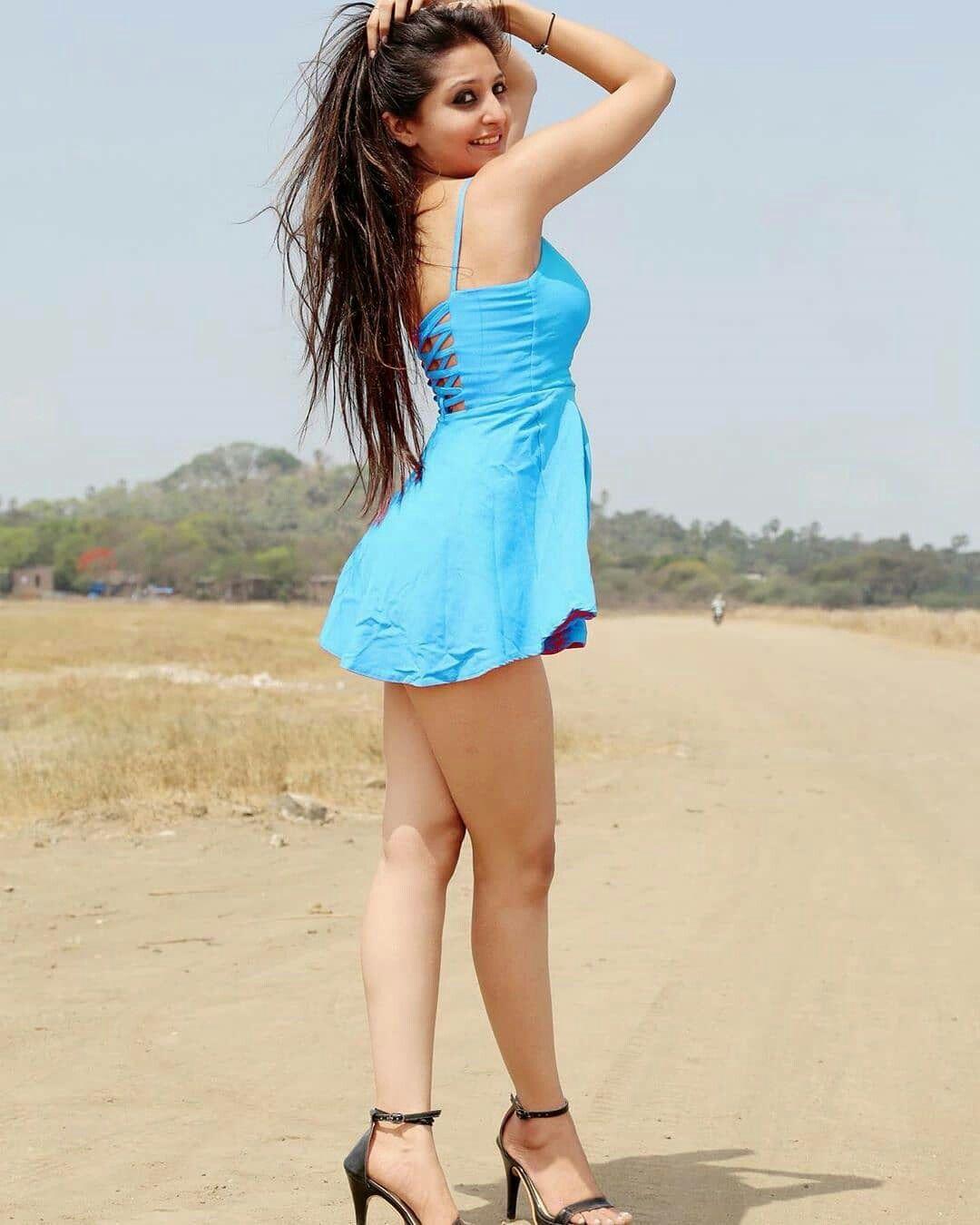 indian girls in short dresses