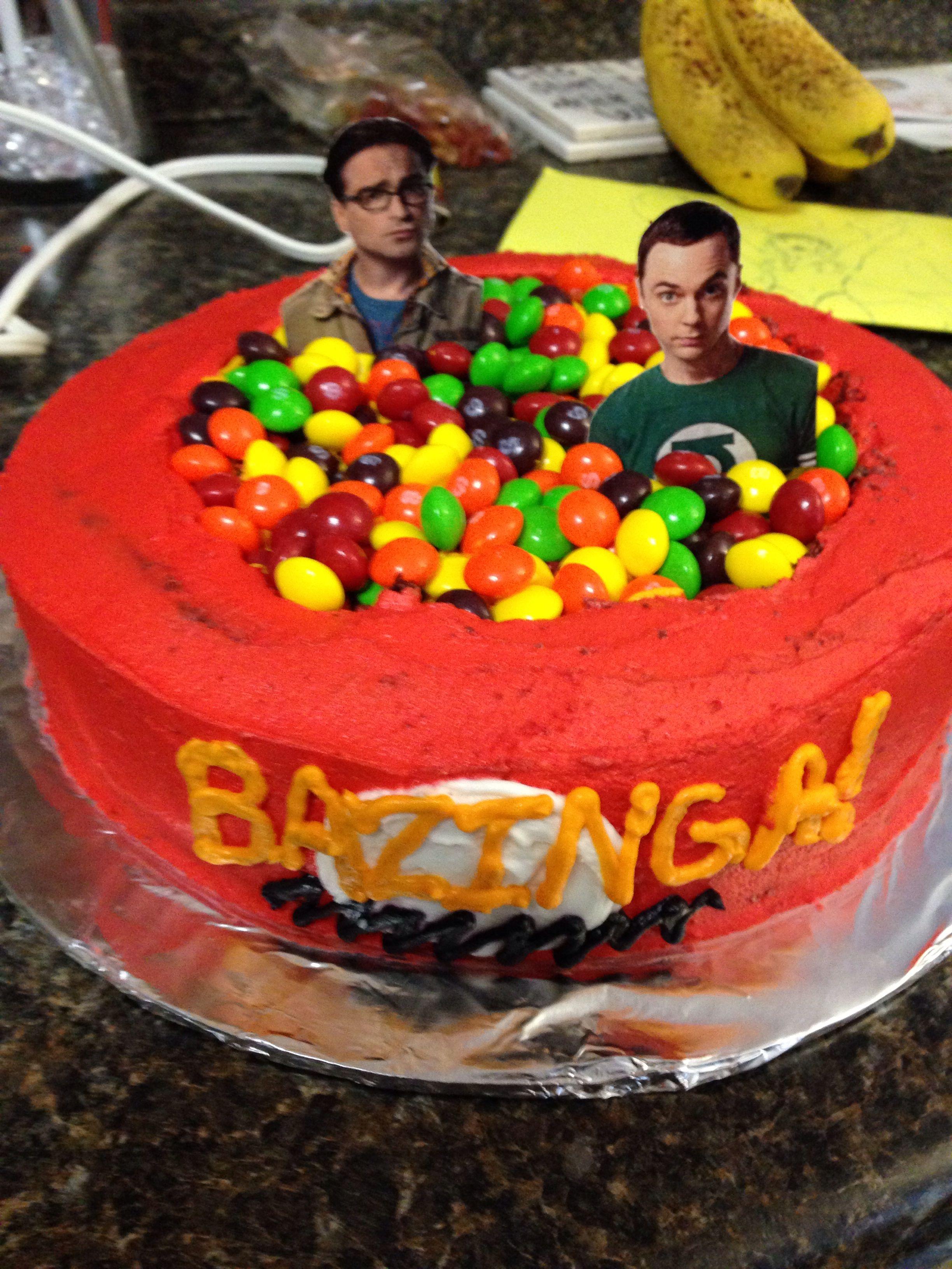 Big Bang Theory Cake