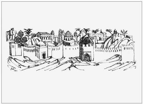 1934 Иллюстрация к поэме Фирдоуси