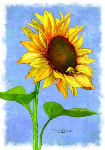 Russ Berrie 644416 Sunflower Garden Flag By Russ Berrie. $14.72. Displays  Nicely On The
