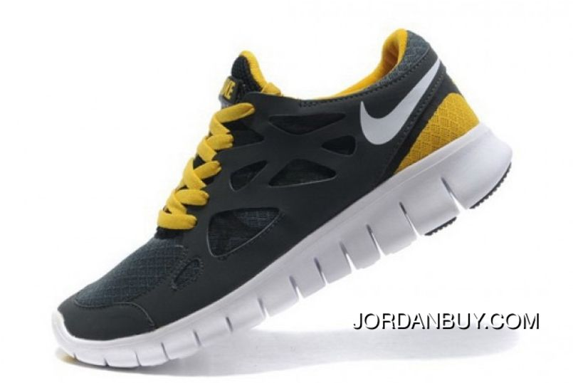 best website 0cf0a bf593 Discounted Nike Adidas Puma Air Jordan Shoes Online Store Hot Sale Dark  Gray Yellow Nike Free Run 2 -