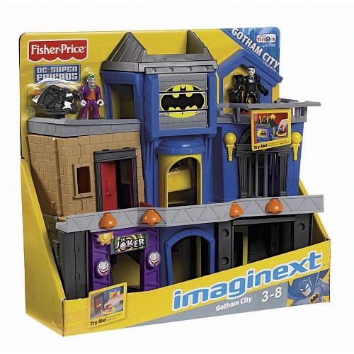 Fisher-Price Imaginext Gotham City Playset | Gotham city ...