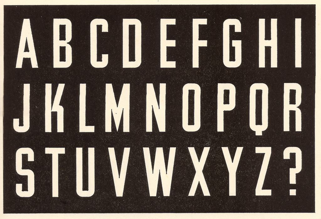 Alphabet formed by Jesse Collins, Industrial Design Partnership