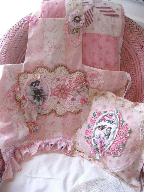 Shabby Pink Set | Flickr - Photo Sharing!