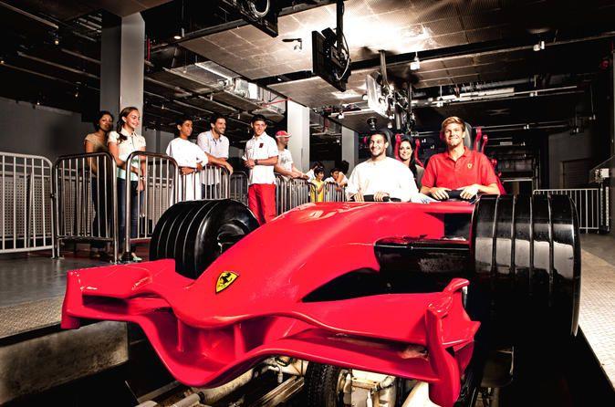 Entrance Ticket To Ferrari World In Abu Dhabi Explore A World Of