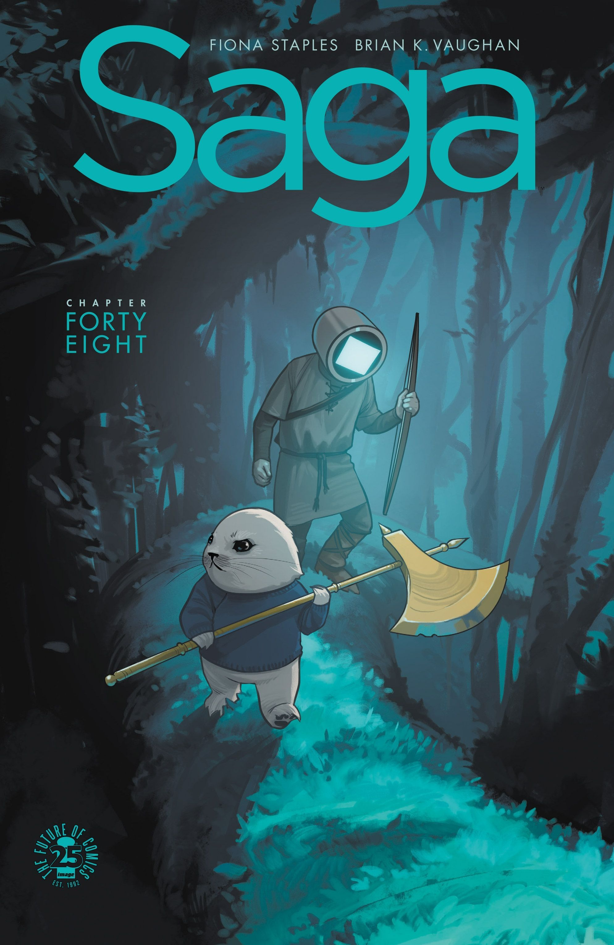 END OF STORY ARC Ghüs and Squire have an adventure. Saga