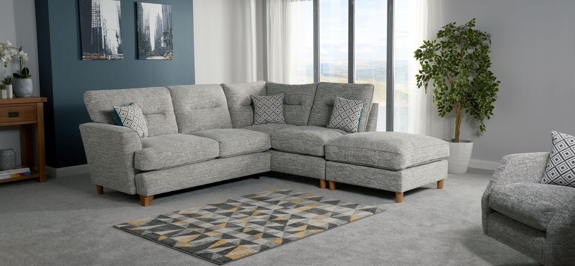 Freya 2 Corner 1 RHF Chaise Standard Back   Sofa sale, Sofa