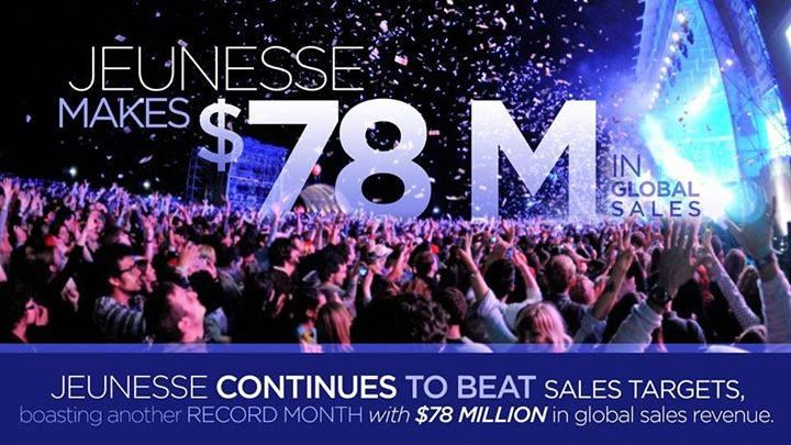 One of the fastest growing MLM companies in the world! This is from april 2015.