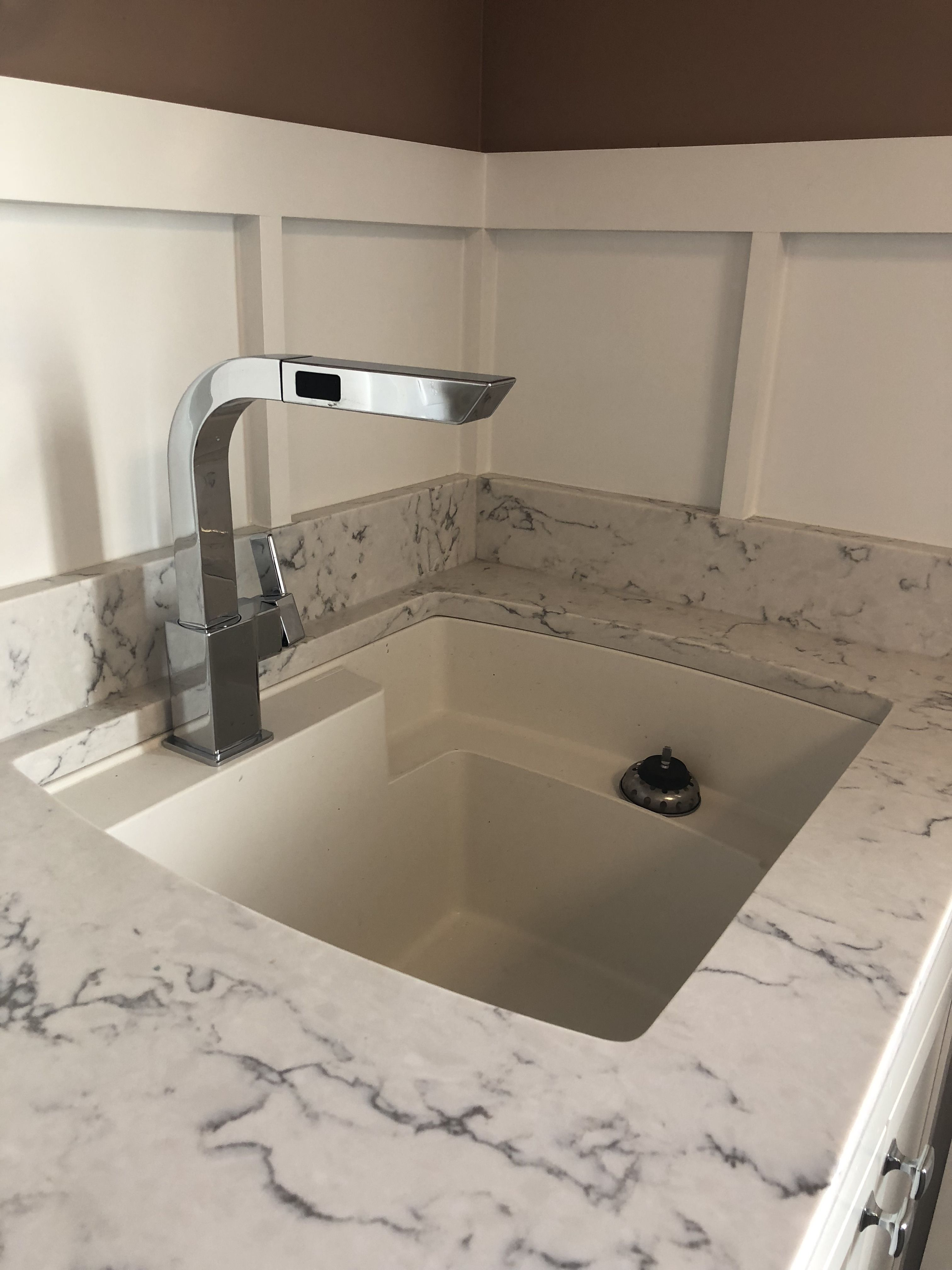 Moen 90 Chrome Faucet Used For Laundry Sink