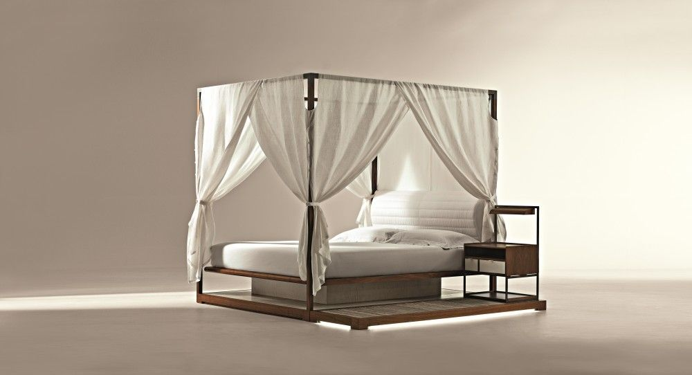 'Ira' Canopy Bed Bed design, Bed, Floating bed