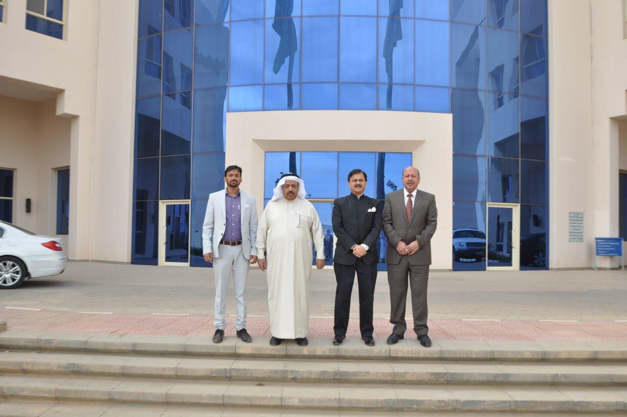 Fahad Bin Sultan University Receives The Indian Ambassador To The Kingdom News Ambassador Sultan