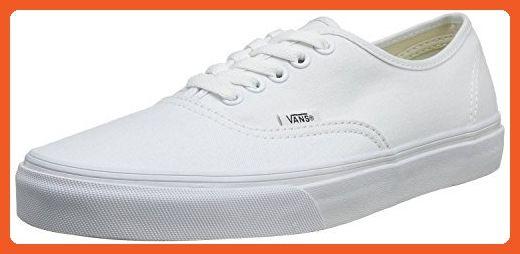 0930d8ba51b77 Vans 0EE3WOO: Authentic True White UNISEX Skateboard Sneakers (True ...