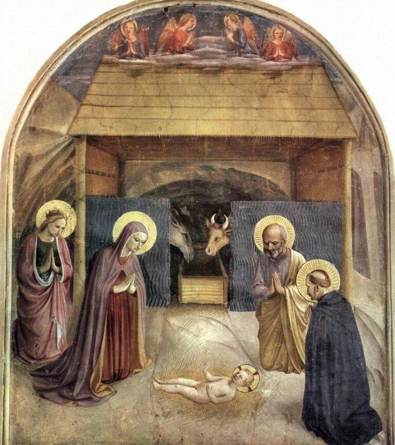 La Natividad» de Fra Angélico | Catolicidad | Pinterest