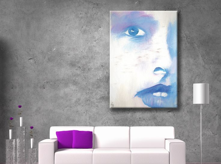That gaze... This fashion poster decor is a perfect wall decor idea for your living room, office, beauty salon...