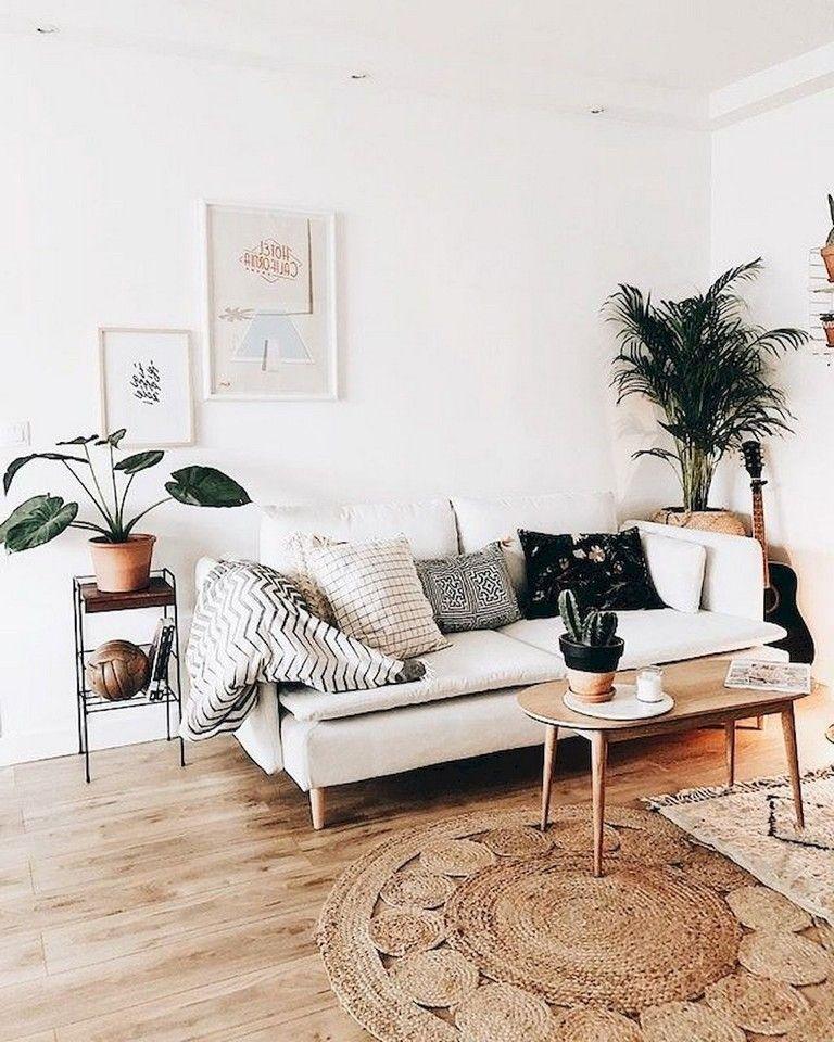 82+ Comfy Bohemian Living Room Decor Ideas images