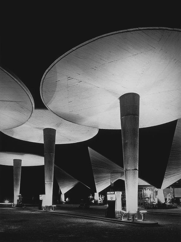Gas station (1960) Oliva, Valencia. Juan Haro Piñar.