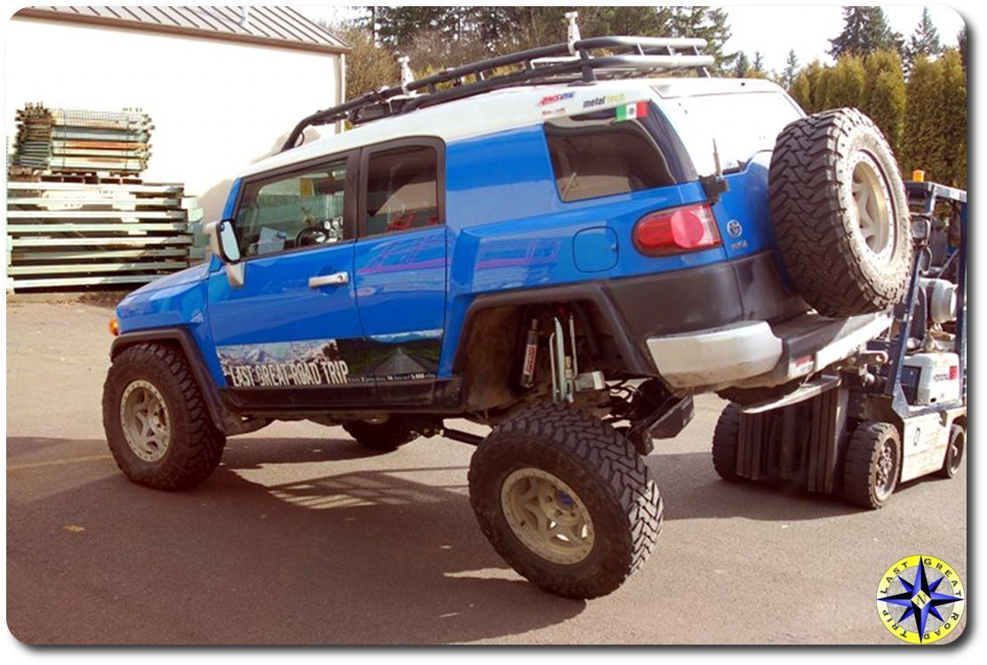 The Rear Axle, And Its Short Travel   Toyota FJ Cruiser Forum