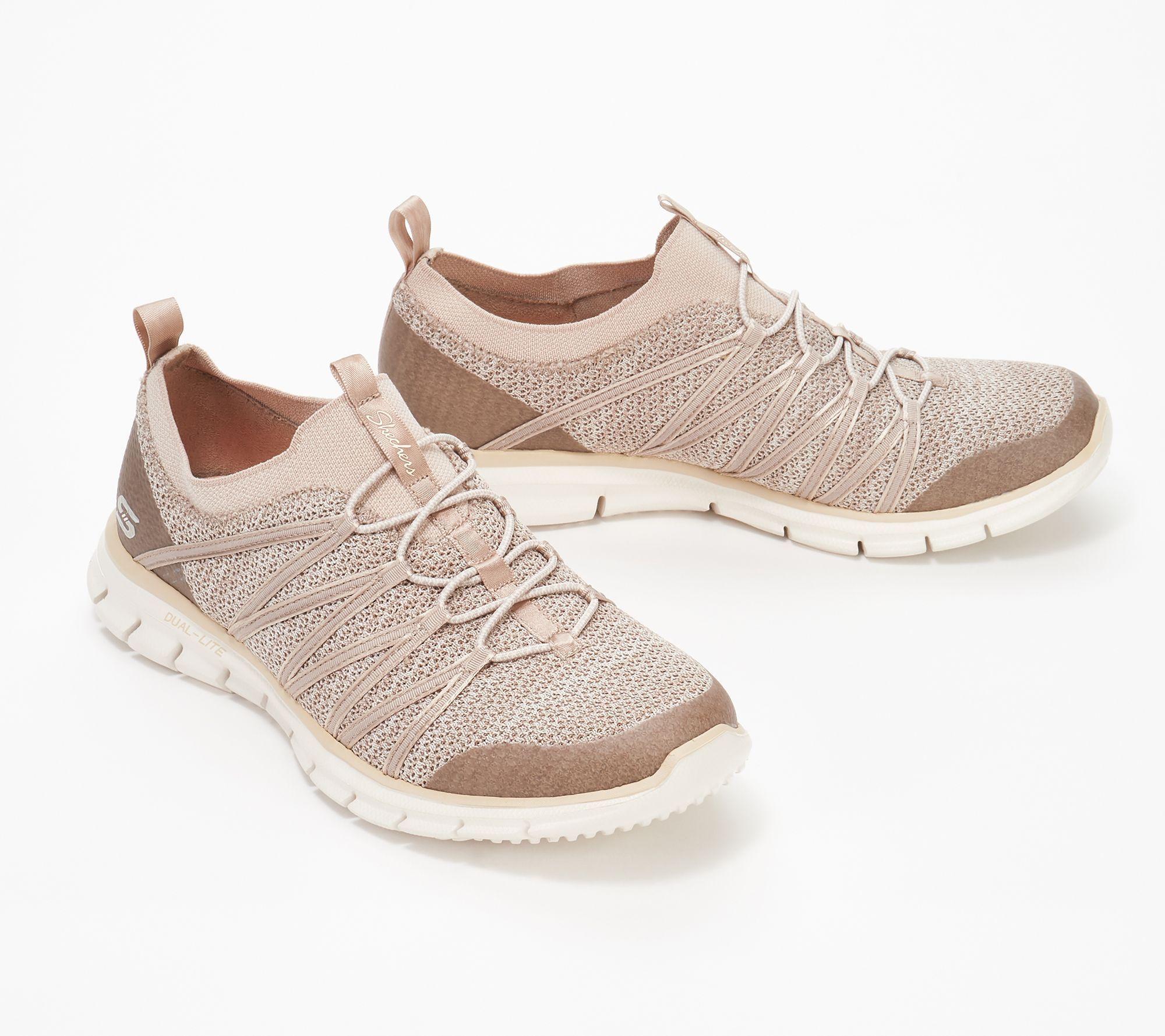Offizieller Lieferant wähle echt um 50 Prozent reduziert Skechers Stretch-Knit Bungee Slip-On Sneakers - Glider ...