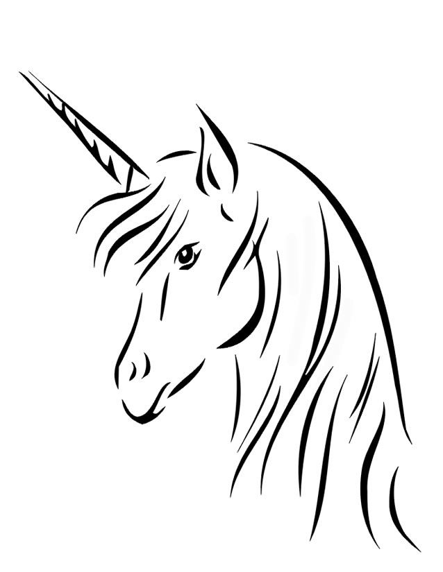 Coloriage De Cheval Et De Licorne.Coloriage Licorne Coloriage Cheval Unicorn Drawing Unicorn