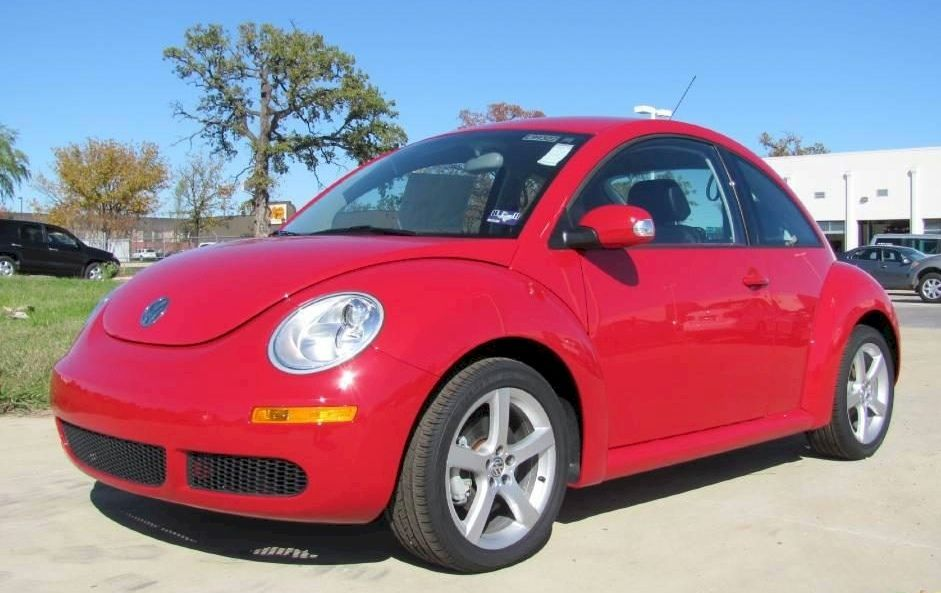 Photo Of Red Vw Beetle 2009 Salsa Volkswagen Paint Cross Reference