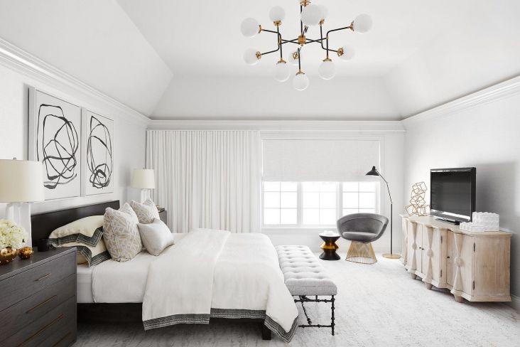 Photo of Idee per l'illuminazione dei soffitti delle camere da letto